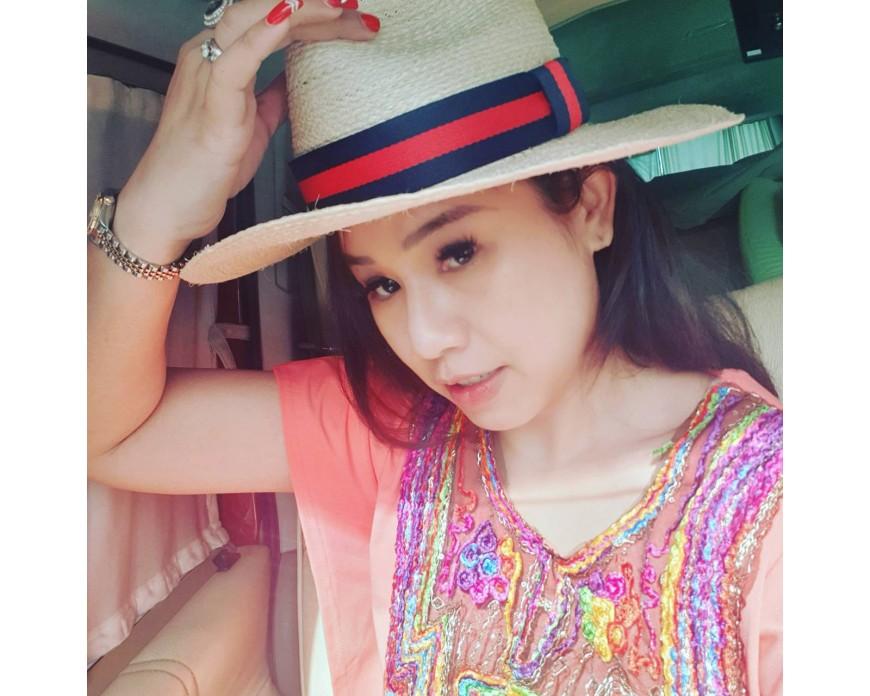 Beautiful sea straw hat